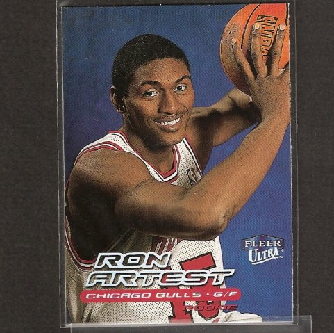 RON ARTEST - 1999-00 Ultra ROOKIE - Short Print - Lakers & St. John's