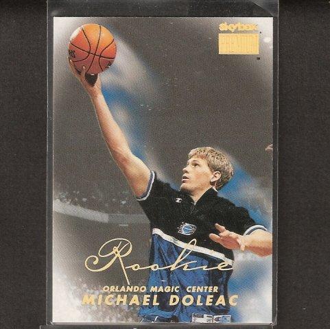MICHAEL DOLEAC - 1998-99 Skybox Premium ROOKIE