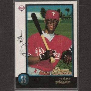 JIMMY ROLLINS - 1998 Bowman ROOKIE - Philadelphia Phillies
