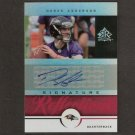 DEREK ANDERSON - 2005 Upper Deck Reflections ROOKIE AUTOGRAPH - Browns & Oregon State Beavers