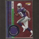 KARSTEN BAILEY - 2001 Pacific Invincible GAME-WORN JERSEY - Seattle Seahawks