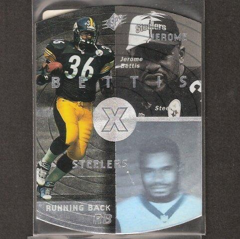 JEROME BETTIS - 1998 SPx Silver Parallel - Steelers