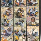 JEROME BETTIS - 1994 Fleer Rookie of the Year SET - Notre Dame & Steelers