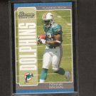 RONNIE BROWN - 2005 Bowman ROOKIE - Auburn & Miami Dolphins