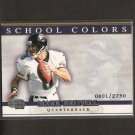 MARK BRUNELL - 2001 Pacific Invincible School Colors - Jaguars & Washington Huskies