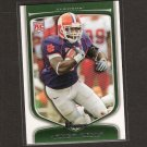 JAMES DAVIS - 2009 Bowman Draft WHITE ROOKIE - Cleveland Browns & Clemson Tigers