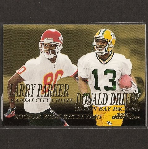 DONALD DRIVER - 1999 Skybox Dominion ROOKIE - Green Bay Packers & Alcorn State