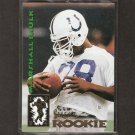 MARSHALL FAULK - 1994 Select ROOKIE - Colts, Rams & Aztecs
