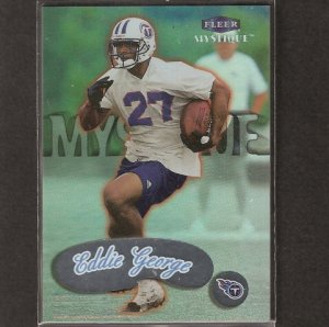 EDDIE GEORGE - 1999 Fleer Mystique SP - Houston Oilers