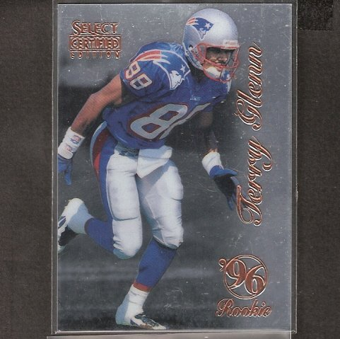 TERRY GLENN - 1996 Select Certified RC - Patriots, Dallas Cowboys & Ohio State Buckeyes