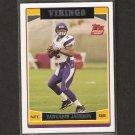 TARVARIS JACKSON - 2006 Topps ROOKIE - Minnesota Vikings & Alabama State