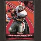 KNOWSHON MORENO - 2009 Bowman Draft Rookie All-Stars - Georgia Bulldogs & Denver Broncos
