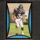 EDDIE ROYAL - 2008 Bowman Rookie - Denver Broncos & Virginia Tech