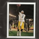 BEN ROETHLISBERGER - 2008 UD Goudey Hit Parade of Champions MINI - Steelers