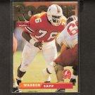 WARREN SAPP - 1995 Skybox Impact Rookie Card - Miami Hurricanes