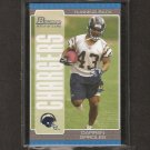 DARREN SPROLES - 2005 Bowman Rookie - Saints, Chargers & Kansas State