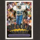 BARRY SANDERS - 1999 Topps Record Numbers - Detroit Lions & Oklahoma State Cowboys