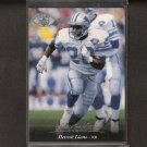 BARRY SANDERS - 1995 Upper Deck Electric Silver - Detroit Lions & Oklahoma State