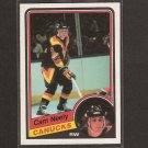 CAM NEELY - 1984-85 O-Pee-Chee ROOKIE CARD - Boston Bruins