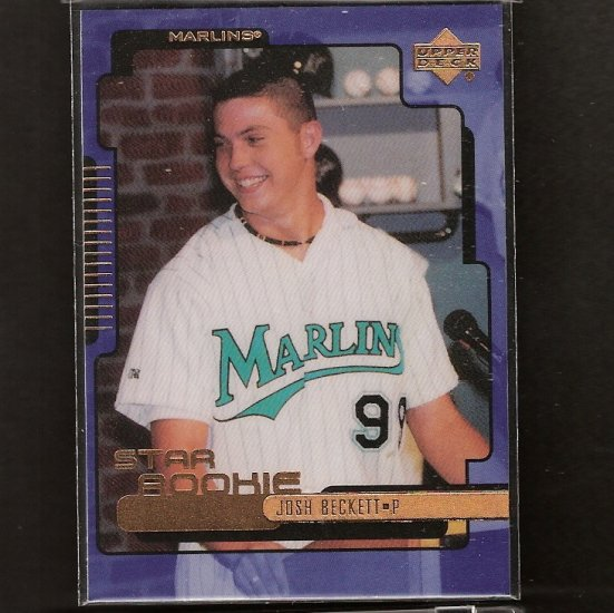 JOSH BECKETT - 1999 Upper Deck ROOKIE - Red Sox