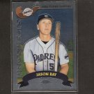 JASON BAY - 2002 Topps Chrome Traded ROOKIE - Red Sox, Mets