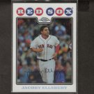JACOBY ELLSBURY 2008 Topps Chrome REFRACTOR - Red Sox