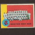 RED SOX TEAM CARD 1963 Topps