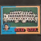 RED SOX TEAM CARD 1975 O-Pee-Chee Checklist