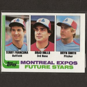 TERRY FRANCONA - 1982 Topps ROOKIE - Boston Red Sox