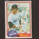 CARL YASTRZEMSKI - 1981 O-Pee-Chee - Boston Red Sox