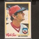 CARL YASTRZEMSKI - 1978 O-Pee-Chee - Red Sox