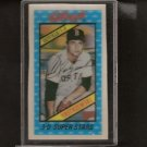 CARL YASTRZEMSKI - 1980 Kellogg's BLANK BACK ERROR - Red Sox