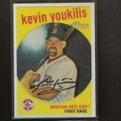 KEVIN YOUKILIS 2008 Topps Heritage Chrome REFRACTOR - Red Sox