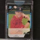 JED LOWRIE- 2005 Bowman Draft BUYBACK Autograph ROOKIE - Red Sox
