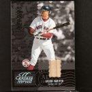 JASON VARITEK - 2005 Leaf Century Collection - GAME-USED BAT - Red Sox