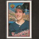 JOHN SMOLTZ - 1989 Bowman ROOKIE - Cardinals, Braves