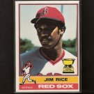 JIM RICE - 1976 O-Pee-Chee NM 2nd YEAR - Red Sox