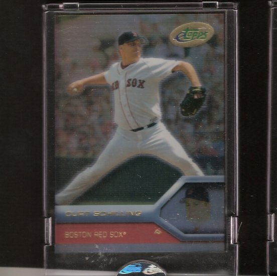 CURT SCHILLING - 2005 eTopps - Red Sox