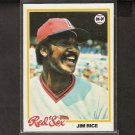 JIM RICE - 1978 Topps NM - Red Sox