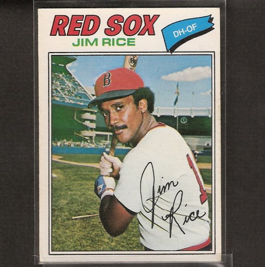 JIM RICE - 1977 O-Pee-Chee NM - Red Sox