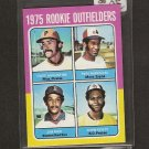 JIM RICE - 1975 Topps Mini ROOKIE CARD - Red Sox