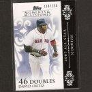 DAVID ORTIZ 2008 Topps Moments & Milestones - Red Sox