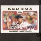DAISUKE MATSUZAKA 2008 Topps Opening Day - Red Sox