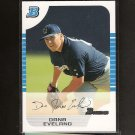 DANA EVELAND- 2005 Bowman WHITE RC- Brewers