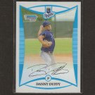 DANNY DUFFY - 2008 Bowman Chrome Refractor Rookie - Indians