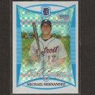 MICHAEL HERNANDEZ - 2008 Bowman Chrome XFRACTOR Rookie - Detroit Tigers