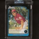 DUSTIN MOSELEY - 2003 Bowman Uncirculated Rookie - Reds