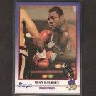 IRAN BARKLEY 1991 Kayo Boxing ROOKIE - Bronx, NY