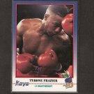 TYRONE FRAZIER - 1991 Kayo Boxing ROOKIE - Philadelphia, PA