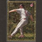 PAUL SHUEY - 1995 Bowman GOLD - Cleveland Indians